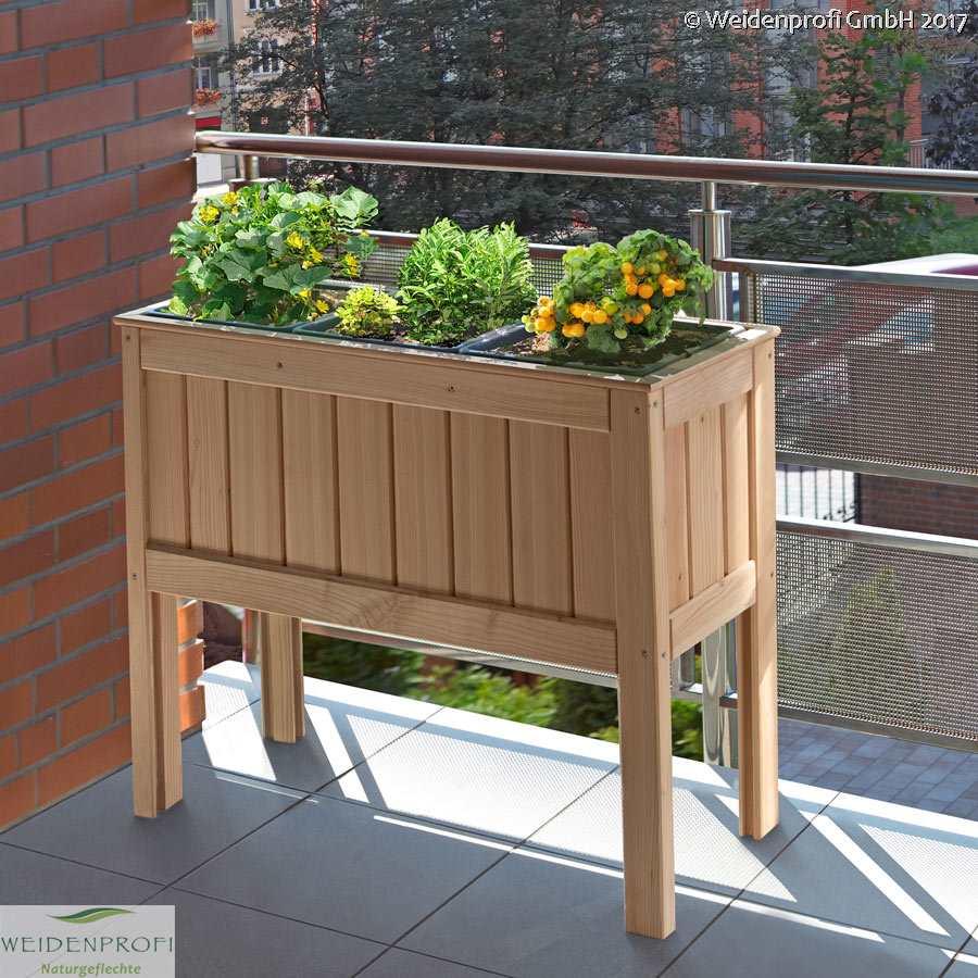 pflanzkasten balkonhochbeet balkonbeet gew chshaus hochbeet f r den balkon ebay. Black Bedroom Furniture Sets. Home Design Ideas