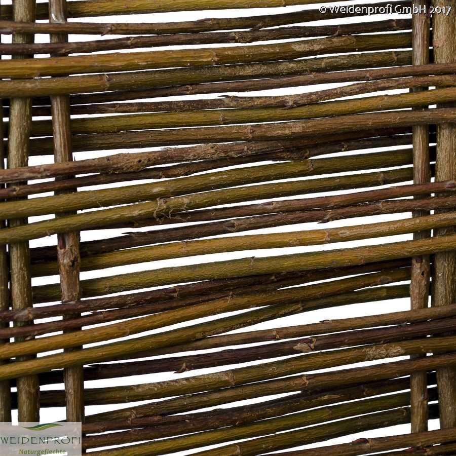 Einzelelement für Paravent Weide Elegant Rahmen 6x3 60 x 180 cm