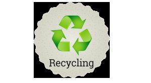 Ein Haselnusszaun ist kompostierbar