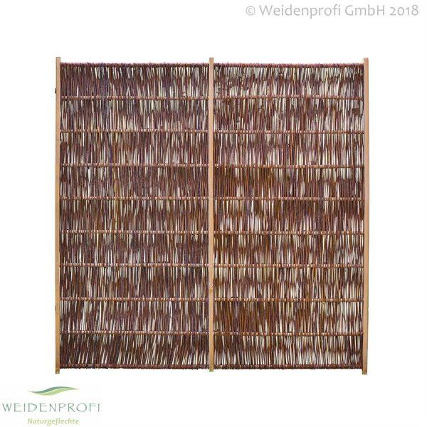 Weidenzaun Solid 180x180