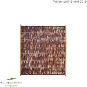 Weidenzaun Solid 120x140