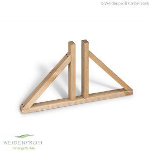 Standfuß Paravent Holz