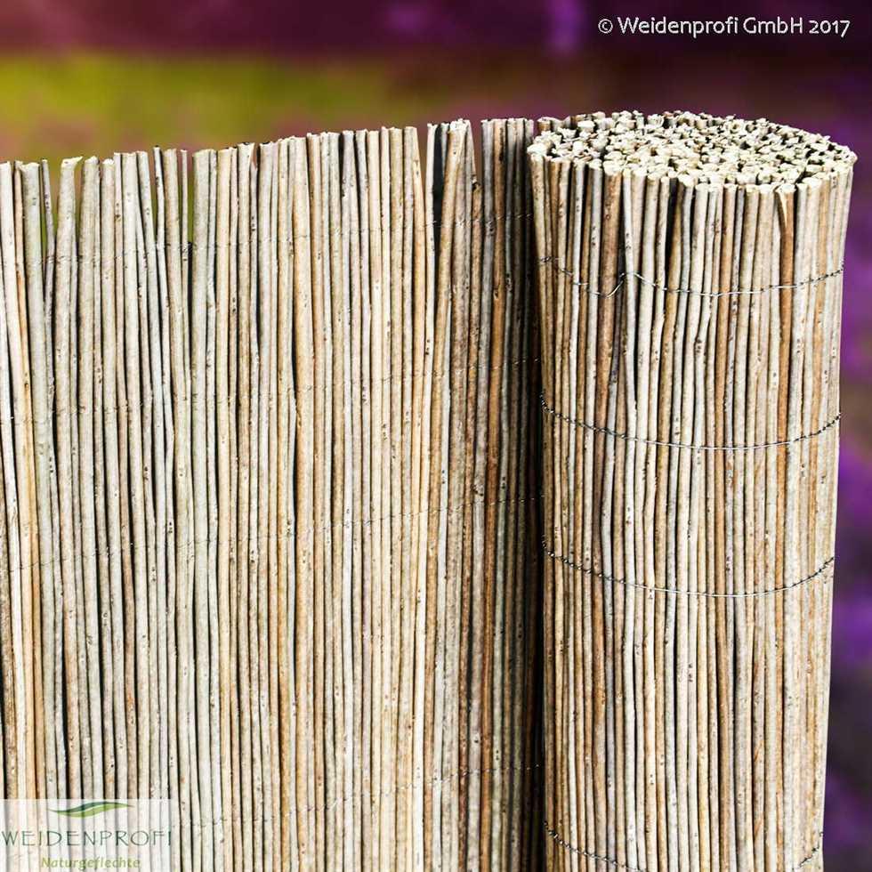 Robinienmatten Sichtschutzmatten Robinie Naturgeflechte24