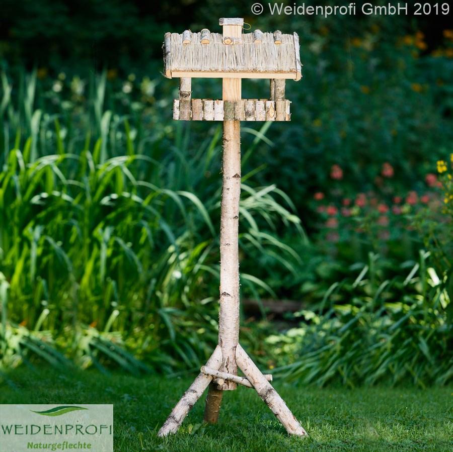 vogelhaus birke quadratisch