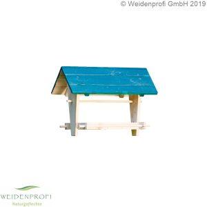 Vogelhaus Kiefer Grün