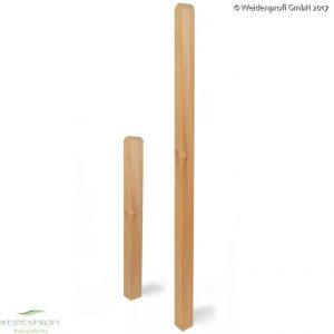 Holzpfosten, Zaunpfosten Lärche 9x9