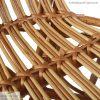 Weidenmöbel Schaukelstuhl Detail
