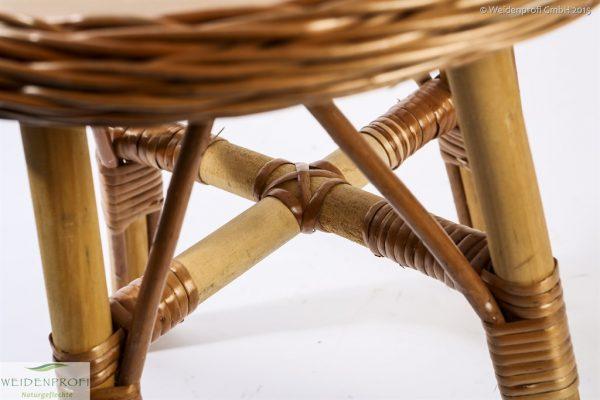 Kindertisch Detailbild Unterkonstruktion