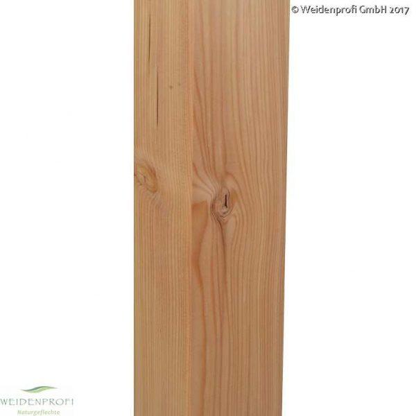Holzpfosten, Zaunpfosten Lärche, 9x9x190 cm