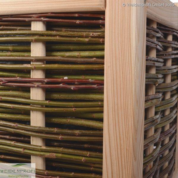 Pflanzkasten Detailbild Eckpfosten