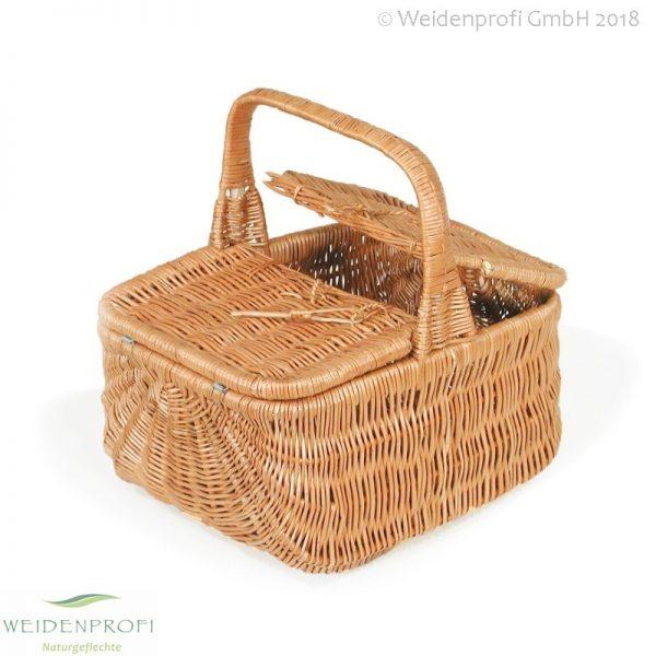Picknickkorb Weide, hell