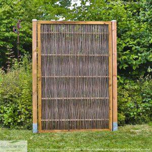 Robinienzaun Gartenzaun mit Rahmen