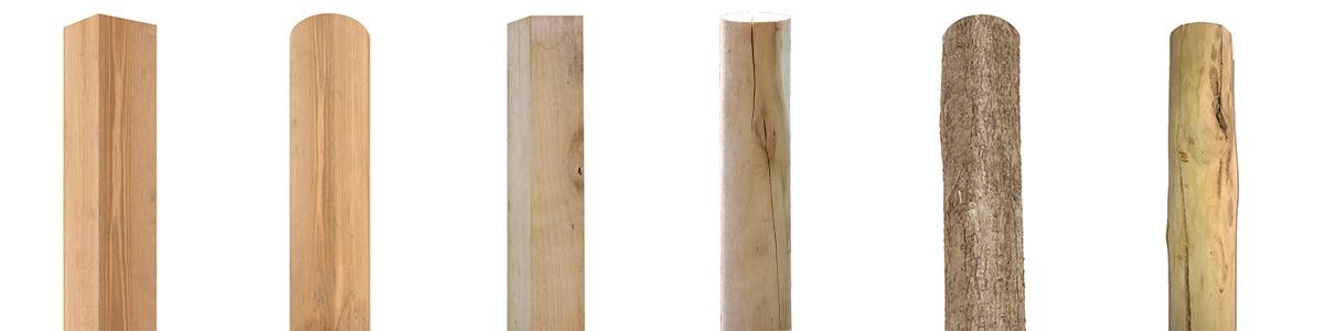 Zaunmontage & Zubehör Holzpfosten