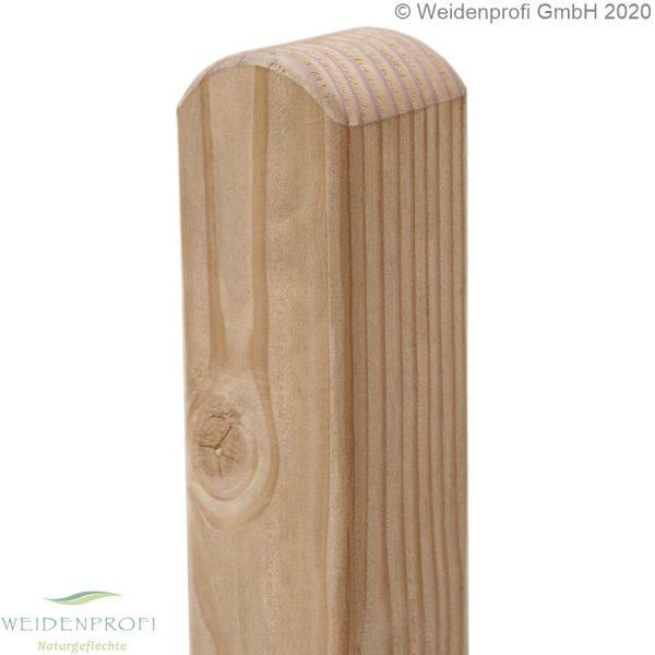 Holzpfosten, Zaunpfosten Lärche rundkopf