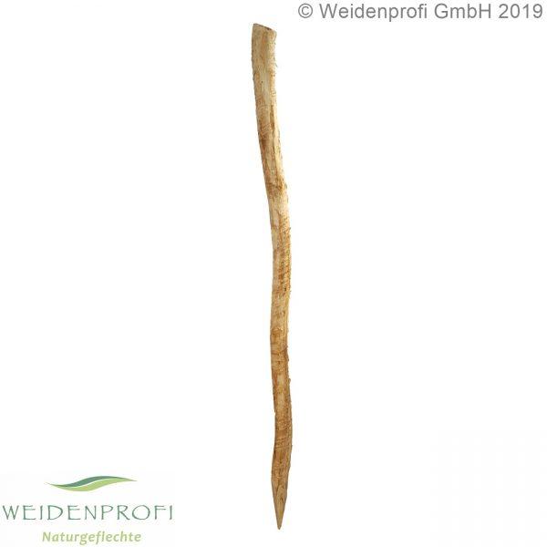 Holzpfosten Robinie rund, entrindet