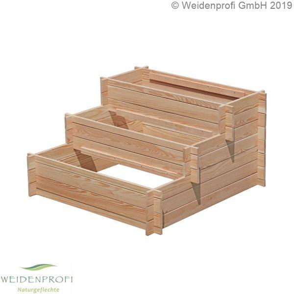 Pflanztreppe Lärchenholz