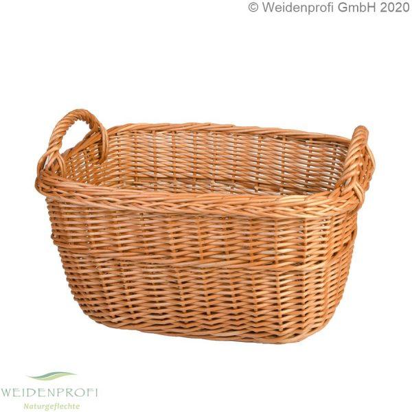 Weidenkorb, Holzkorb, 2 Griffe